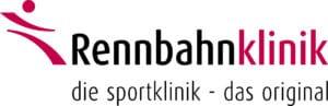 Rennbahnklinik Logo & Slogan Farbig